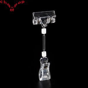 De bonne qualité en matière plastique multifonction titulaire Clip pop signe de prix