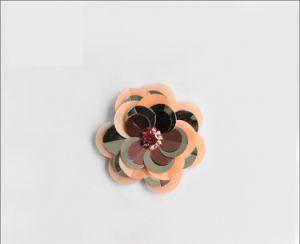 Hot Sale à la main pour dames de fleur de chaussures en plastique