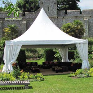 5x5m profilé en aluminium bâche en PVC Garden Party tente Pagode de l'événement