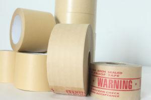 El sellado de cintas autoadhesivas de papel Kraft