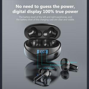 Auriculares auriculares auriculares Dlpo deporte Teléfono móvil resistente al agua IPX 5 Juegos de accesorios para teléfonos móviles Viajes inalámbrico Bluetooth de Tws con estuche de carga