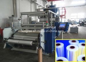 Riga di plastica dell'espulsione della pellicola di stirata di PE/LLDPE/LDPE/linea di produzione involucro di plastica