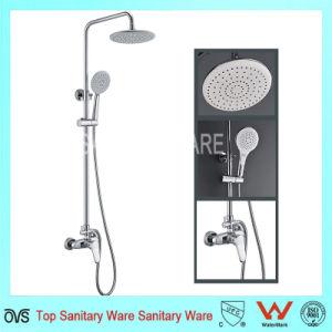 贅沢な浴室の倍のハンドルの真鍮の高品質の浴室のシャワー