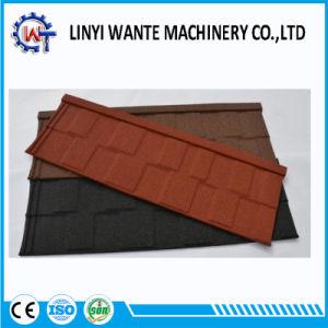 Excellente résistance au feu de pierres colorées en métal recouvert de bardeaux de la tuile de toit