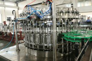 Riga completa della macchina di rifornimento della birra della bottiglia di vetro