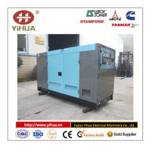 Van de Diesel van Isuzu van Foton (het ontwerp van denyo) de Geluiddichte Reeks Generator van de Macht