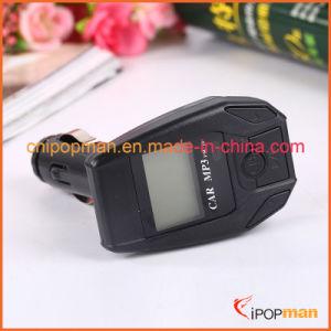 보편적인 먼 전송기 핸들 먼 차 MP3 FM 전송기