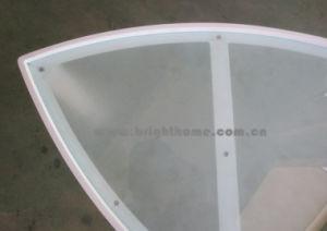 緩和されたガラスの上が付いているアルミニウム側面表