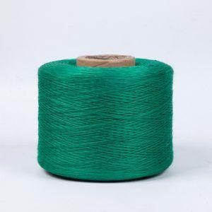 Het stevige Groene Vaste Garen van de Polyester voor Kabel