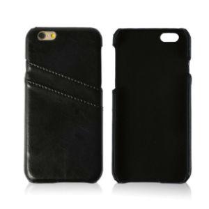 Cuir synthétique de haute qualité Custom Hot Ventes cas avec les emplacements de carte de téléphone pour iPhone 8