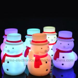Regalos de Navidad LED parpadeante Luz de noche con logo impreso (4027)