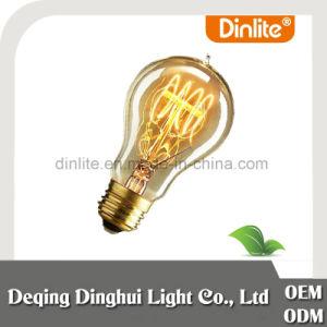 Wal-Mart auditado regulable de fábrica un blanco cálido de Edison19 25W/40W/60W E26 E27 B22 Lámparas LED para ahorrar energía con Ce/RoHS/ISO9001/SGS