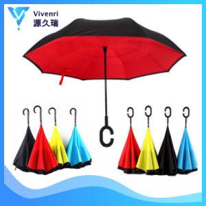 Inverter de vento Umbrella, aluguer de guarda-chuva promocional, guarda-chuvas, guarda-chuva automático