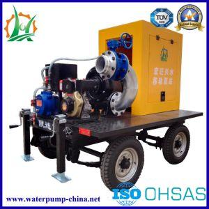 Высокая эффективность предотвращения наводнений в горизонтальном положении дизельного двигателя насоса