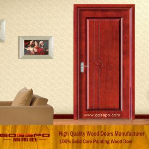 Portello interno dell'appartamento del MDF per la camera da letto (GSP8-006)