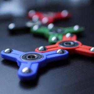 Jouet populaire colorés vent main Fidget Spinner Spinner
