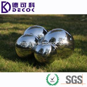 800mm 500mm 350mm 200mm 100mm billes en acier creux pour la décoration extérieure