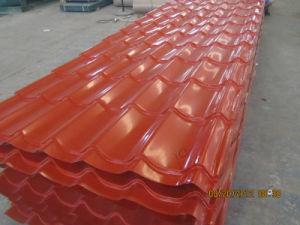 Профиль Prepainted кровельных листов /PPGI шаг миниатюры на крыше