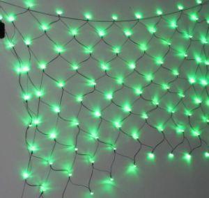 Helle Weihnachtsnettodekoration des LED-Dekoration-Grün-LED für im Freien