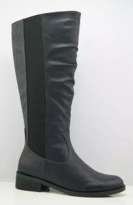 Nouvelle Mode Mesdames haut talon au genou des bottes (S 06)