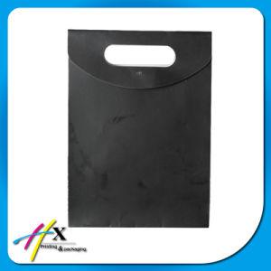 Sacchetto della carta kraft Dell'elemento portante del regalo di acquisto di promozione con la maniglia del cotone