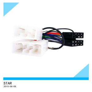 Chicote ISO automotivo para estéreo para automóvel Mitsubishi Chicote de fios do cabo do leitor de CD