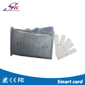 Etiqueta lavable del lavadero de la materia textil RFID de la frecuencia ultraelevada Ucode 7