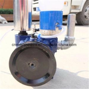 Máquina de ordenha do leite do tipo de óleo da bomba de vácuo