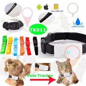 多機能の防水犬または猫ペットGPS追跡者(TK911)