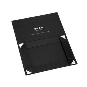 주문 자석 자석 마감을%s 가진 접히는 서류상 편평한 팩 상자 호화스러운 자석 선물 상자