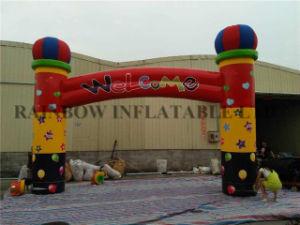 気球の膨脹可能なアーチを広告する熱い販売によってカスタマイズされるInflatables