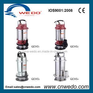Qdxs1.5-32-0.75 Sumergible Bomba de agua para uso de jardín