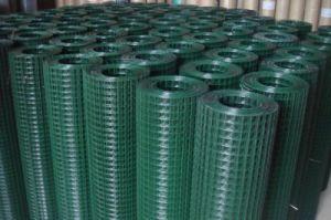 PVCによって塗られる溶接された金網の中国の製造者中国製