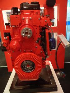 169kw 물 Cummins 냉각 차량 디젤 엔진 Isde6.7e3230