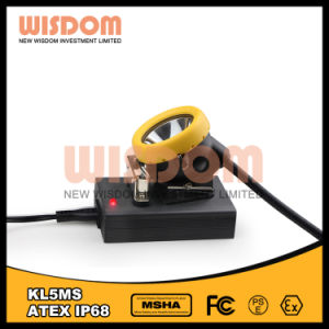 耐圧防爆知恵Kl5ms産業ヘッドライト、再充電可能なLEDの帽子ランプ