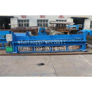 Hydraulische Metallstahlblech-scherende Ausschnitt-Maschine