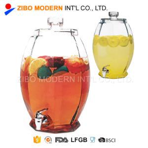 Venda por grosso de 10L de sumo frio bebida jarra de vidro de dispensador de bebidas de vidro