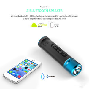 Multifunctional Waterproof Wireless Bluetooth Speaker for Mobile and Bicycle