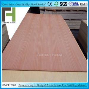 Los muebles de madera contrachapada con núcleo de álamos surgió de chapa de madera de nogal oscuro natural