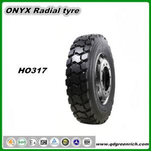 Fábrica Hengfeng 315/80R22.5 Onyx TBR pneus da marca