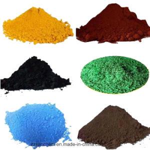 Het Oxyde van het ijzer in Groen Pigment voor het Schilderen en Bouw