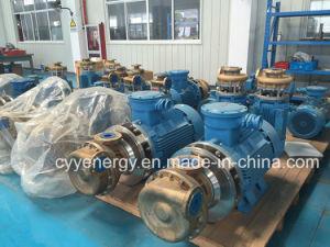 El nitrógeno oxígeno líquido criogénico del agua, aceite de la bomba centrífuga de argón
