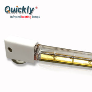 Lâmpada de halogéneo por infravermelhos de aquecimento por infravermelhos Lâmpada IR Lâmpada infravermelho de ondas médias único tubo
