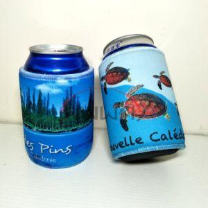 Portabotellas de promoción, aislado de la cerveza de neopreno grueso Enfriador de bebidas puede (BC0075)