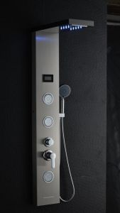 Cascada de masaje spa de calidad de Germary Asa de doble Panel de ducha