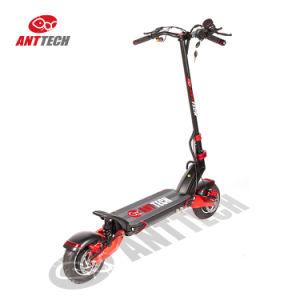 10X cero China Comercio al por mayor de 10 pulgadas a CE eléctrico de dos ruedas Scooter con permanente dos motores de 2000W 52V 23Ah