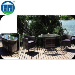 Novo pátio de estilo As medulas jogos de jantar Cátedra Jardim móveis de vime