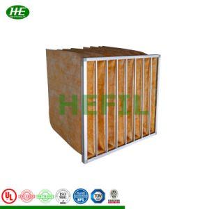 Hot Sale F5- F9 Les filtres à sac de fibre de verre Matériau moyenne Pocket papier pour nettoyer le filtre purificateur d'air industriel