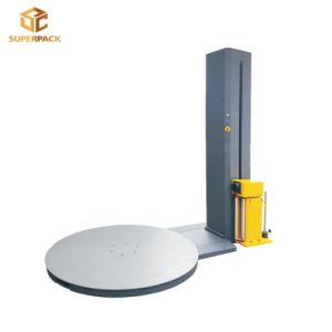Embalagem de paletes com extensão por contração automática barata palete de película elástica de máquina Atador