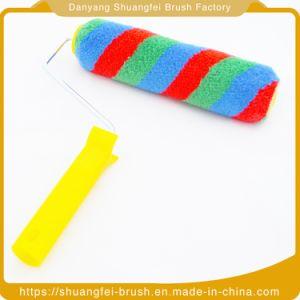 Mezclar la pintura de fibra de cepillo con mango suave para toda la pintura
